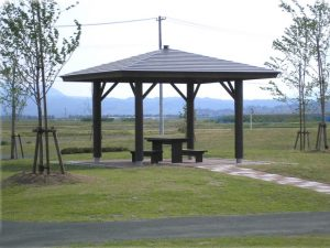 【四阿】 山形県 河北町 健康の森公園