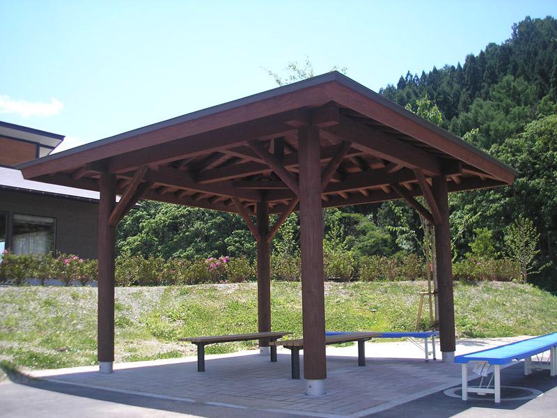 【四阿】東屋 東根市大森山公園