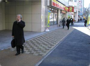 【インターウッド-チップ舗装・クリーク舗装】 東京都 中央区清杉通り