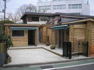 【ミニログハウス】 吉祥寺 ショップグリーンエイト
