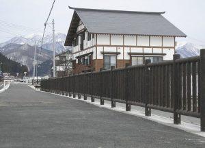 【転落防止柵】 県道稲沢下野明線