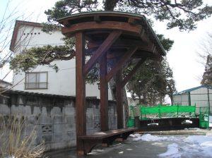 【シェルター】 小さなスペースにも対応可能 寒河江市 二の堰