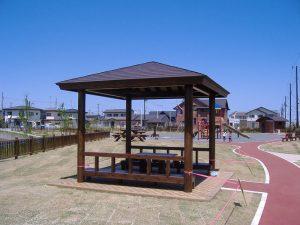 【木レンガ】 岩手県水沢市 ウッドロック