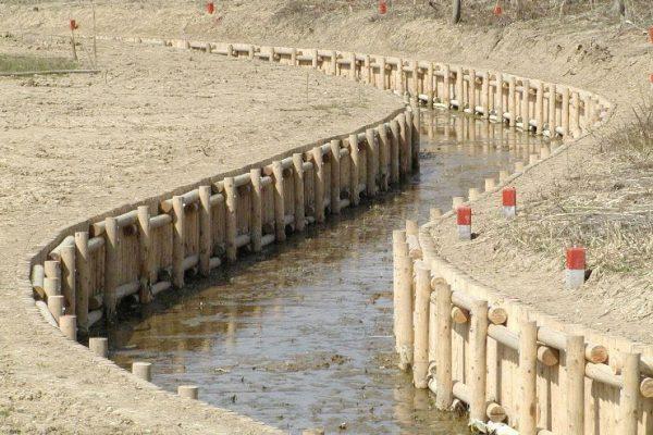 【木製水路】 新川